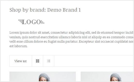 Nice Brand Page