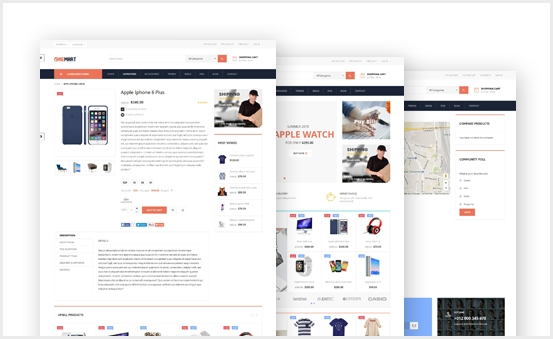 Create Full Home / CMS / Product Page
