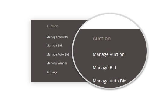 Powerful Auction Management
