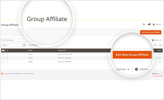Magento 2 Affiliate Extension can Divide Affiliates Into Different Group