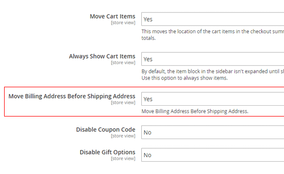 one step checkout for magento 2 easily changing billing section position