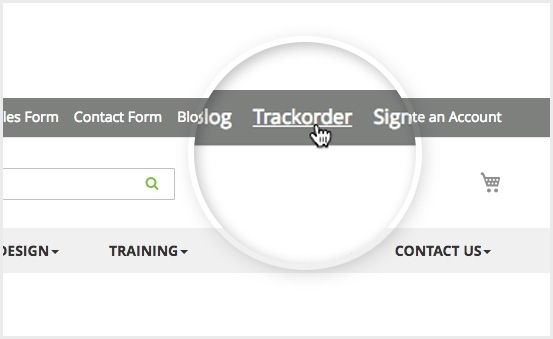 magento 2 order tracking extension pro add link on main-menu & top link