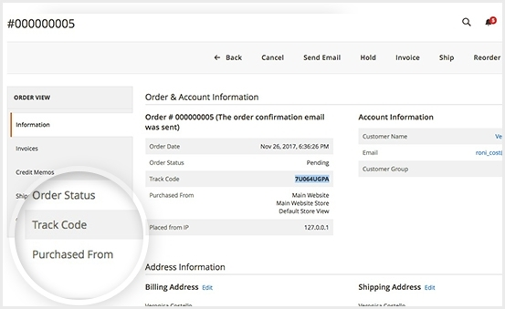 magento 2 order tracking extension pro get tracking code easily