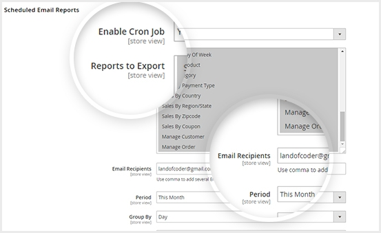 Easily Cron Job to send report export file to email