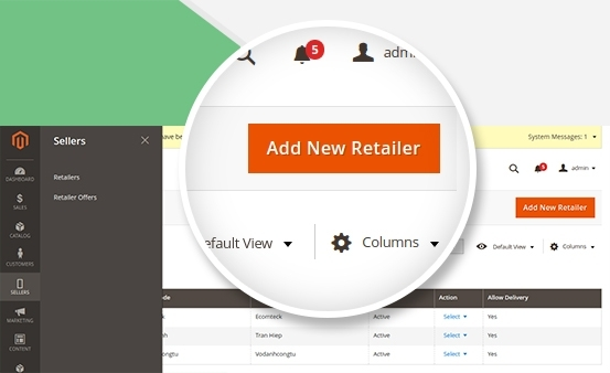 Magento 2 Store Pickup - Manage retailers effectively