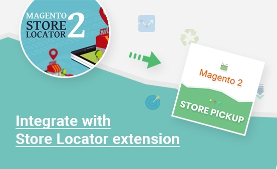 Store Locator extension integrated