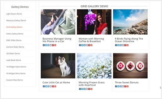 Magento 2 Image Gallery PRO Extension - Grid Gallery Showcase
