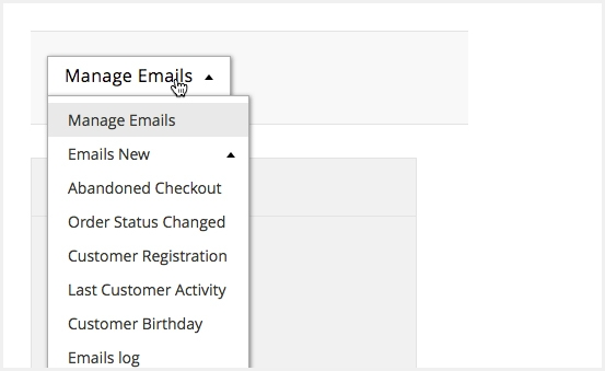 Generate and send numerous triggered emails