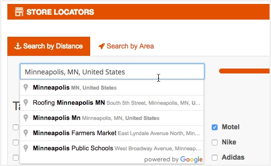 Search Stores With Highest Accuracy Results