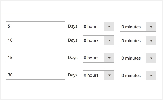 magento 2 follow up email schedule to send email on different time