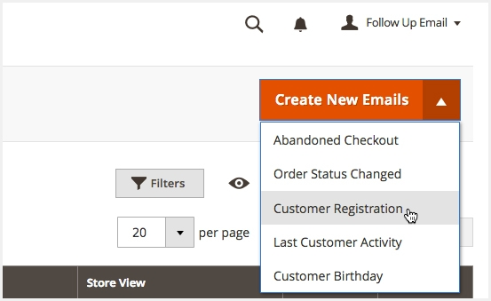 magento 2 follow up email import store locations by CSV/ Json file