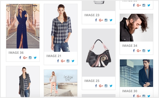 Magento 2 Image Gallery PRO Extension - Multi Row Layouts