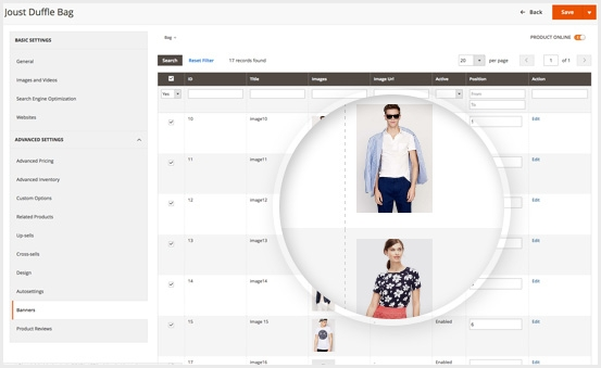 Magento 2 Image Gallery Extension - Attach Image Gallery to Any Product Page