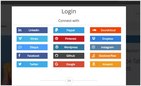 Popover Login Form, Popup form with Magnific Popup, Fancybox