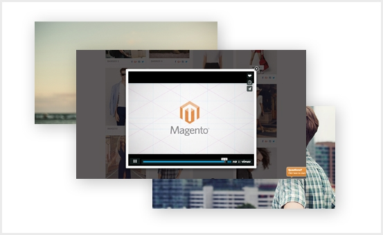 Magento 2 Image Gallery Extension - Support Video: Youtube, Vimeo