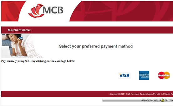 Easily select preferred payment method