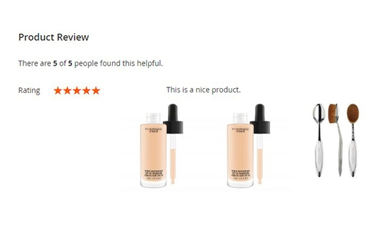 Magento 2 Product Reviews Extension- Reviews Using Images