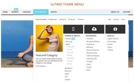 Magento 2 mega menu pro compatible themes