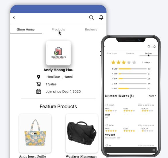 Manage Seller Profile