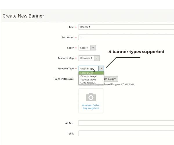 magento 2 banner slider support 4 banner types