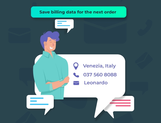 Save all bill information and collect data