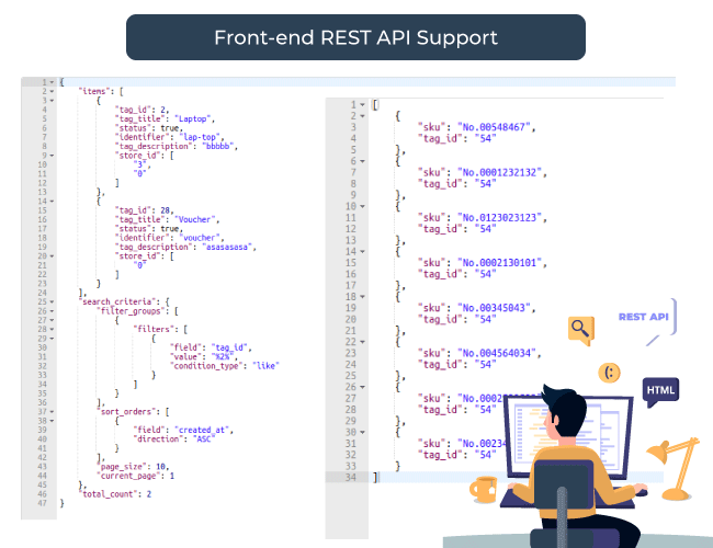 REST API supports by product tags for Magento 2