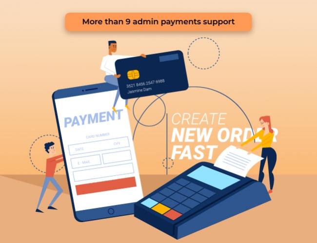 magento 2 admin payment method auto create invoice