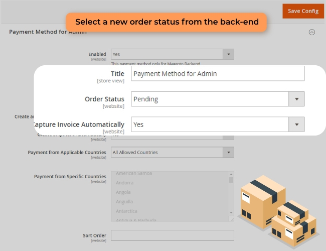 Magento 2 Admin Payment Method PRO create order from backend