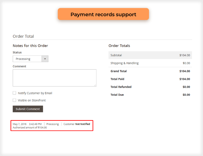 magento 2 admin payment method compatibility