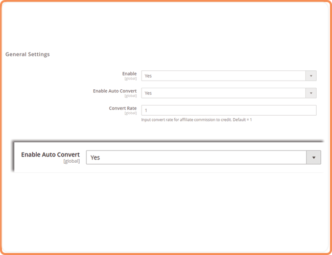 magento 2 auto convert affiliate commission to store credit