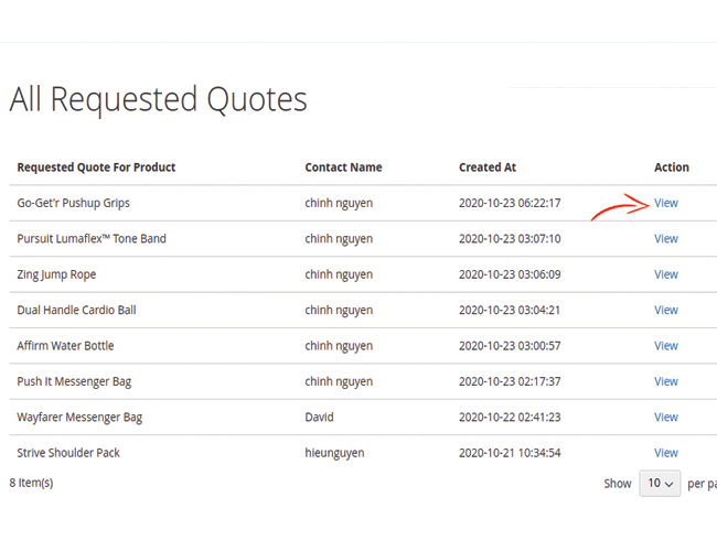 magento 2 marketplace quote system customers manage quotes