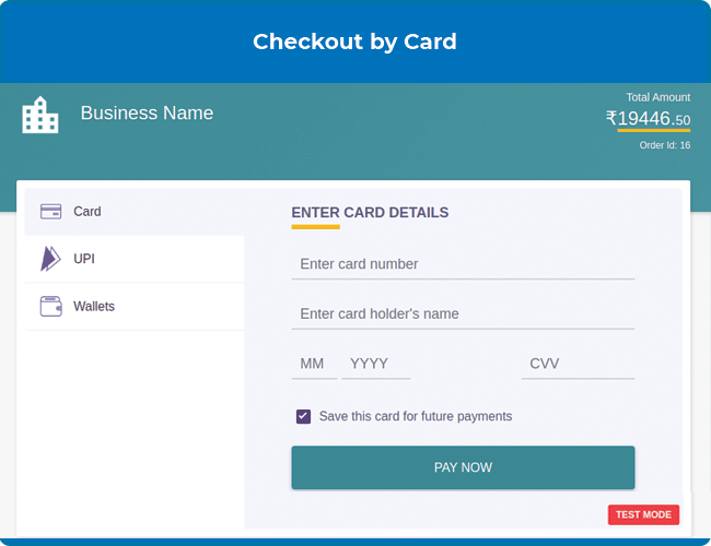 magento 2 marketplace cashfree payment method with card