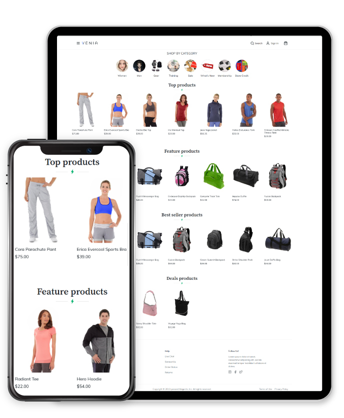 magento pwa product list extension features 1