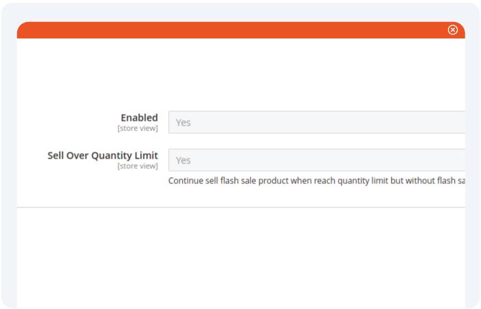 Magento 2 flash sale limit