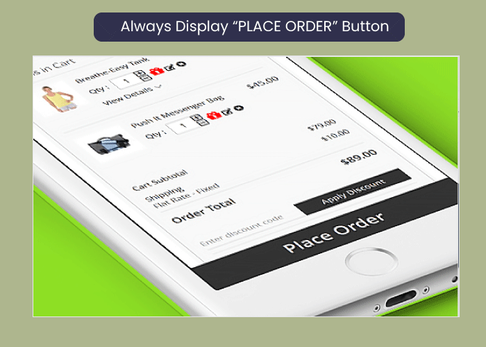 "Magento 2 One Step Checkout Always Display ""PLACE ORDER"" Button"