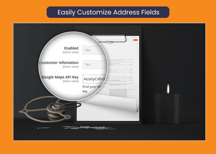 one step checkout for magento 2 Easily Customize Address Fields