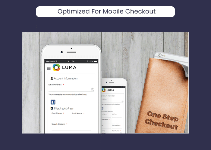Magento 2 One Step Checkout Optimized For Mobile Checkout