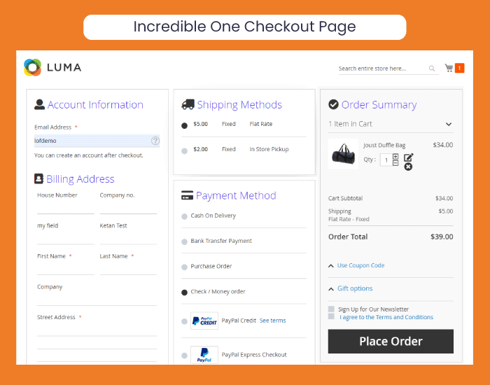 Best Magento 2 One Step Checkout 2019 | 75% Faster