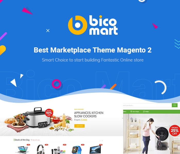 Well-compatible with Magento 2 Marketplace Theme - Bicomart