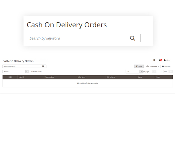 magento 2 cash on delivery manage cod order in backend