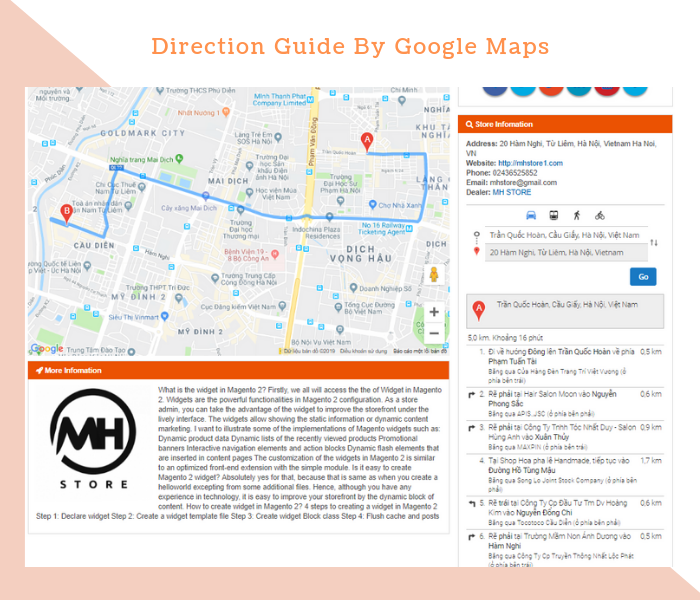 Magento 2 Dealer Extension Locate Dealer Stores & Direction by Google Maps