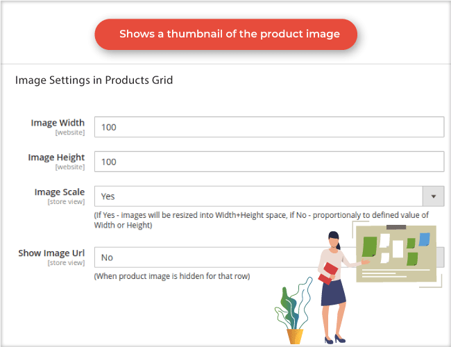 magento 2 advanced product manager thumbnail images