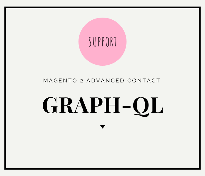 Magento 2 contact form advanced contact graph ql