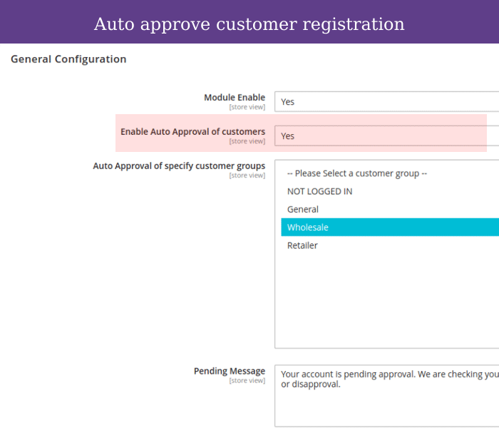 magento 2 auto customer account approval