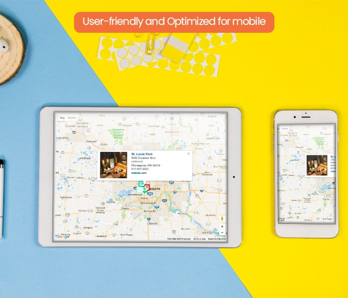 User-friendly and Optimized for mobile