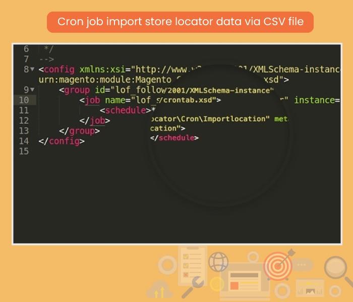 Cron Job Import Store Locator Information via CSV file