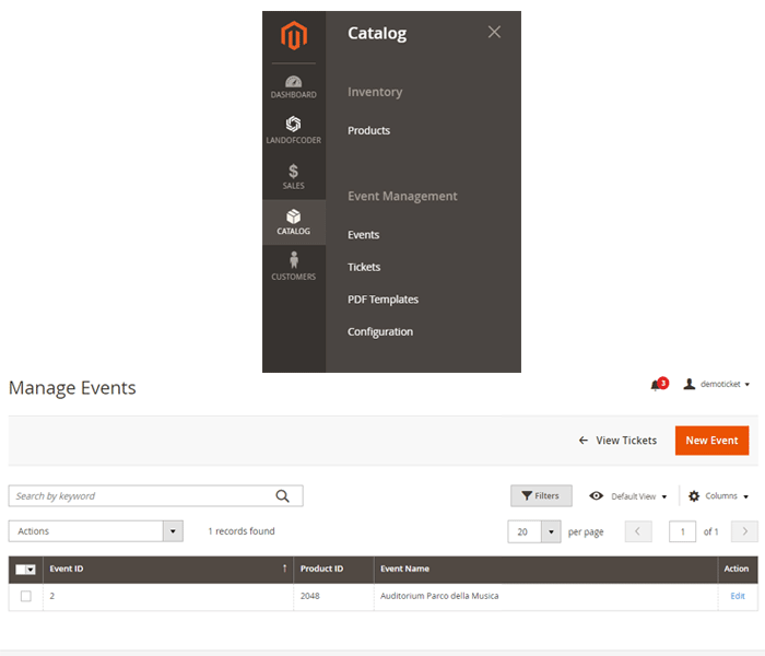 magento 2 event tickets - manage events with ease