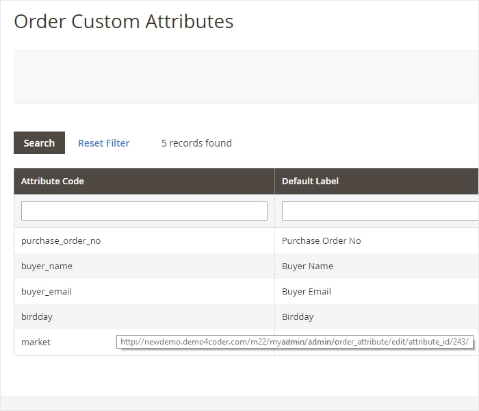 Magento 2 Order Attributes Extension - Powerful Management Order Attributes Settings