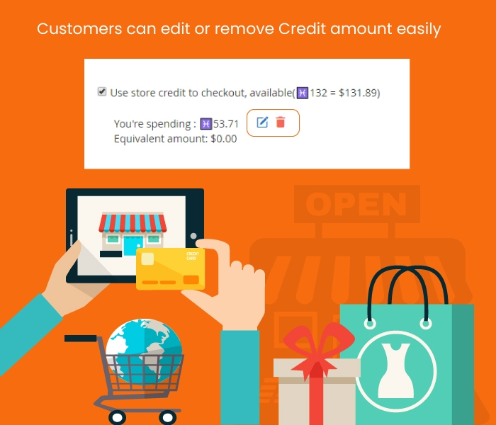 Earn or Buy Store Credit