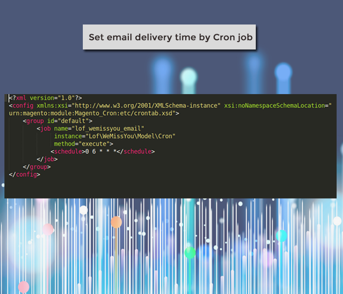 magento 2 we miss you add cron job to set delivery time